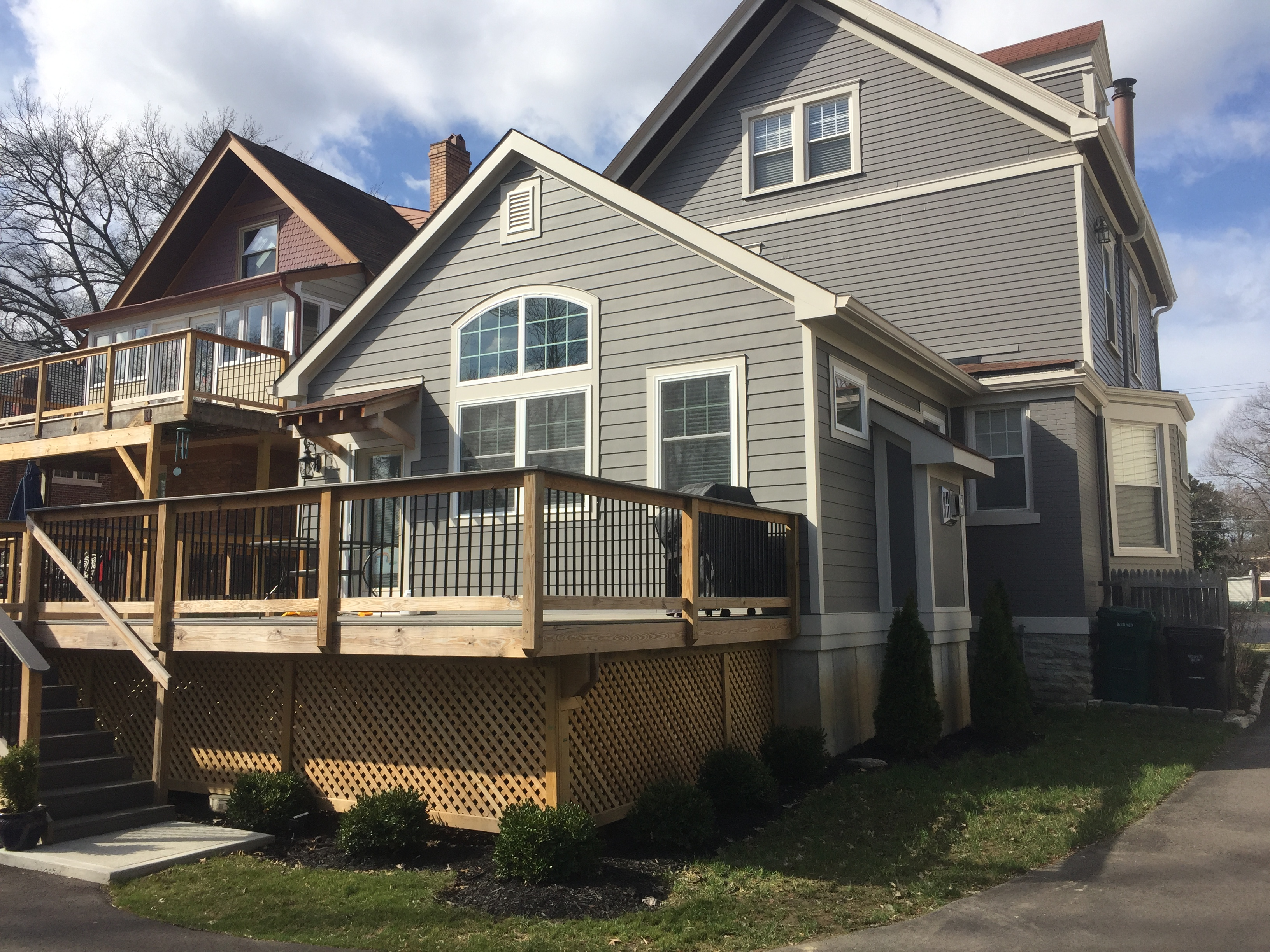Oakley addition and deck