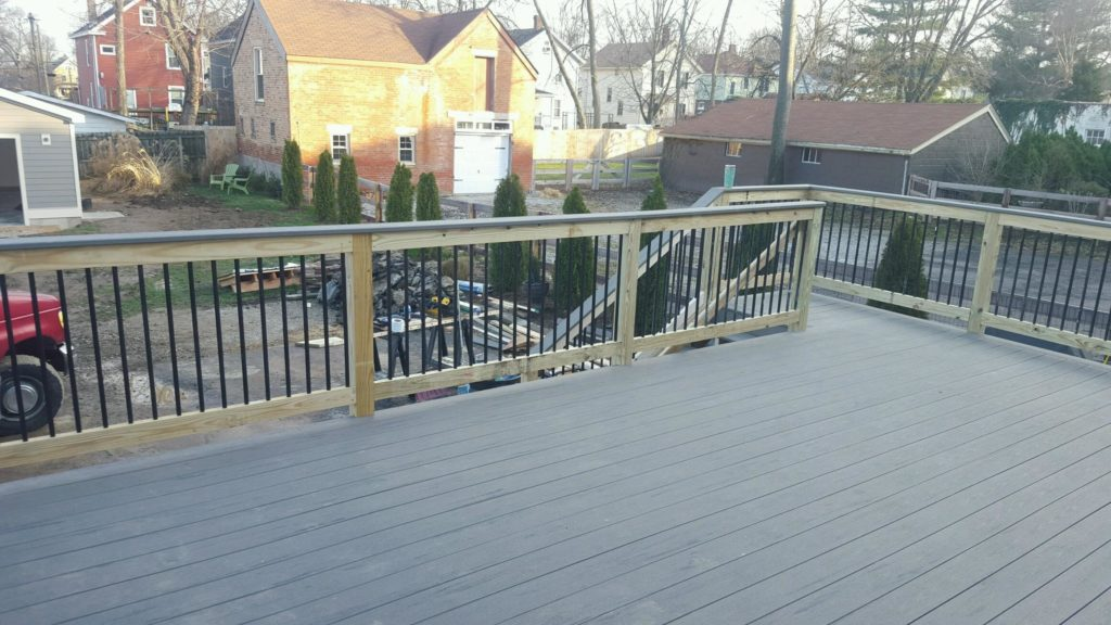 Oakley addition deck