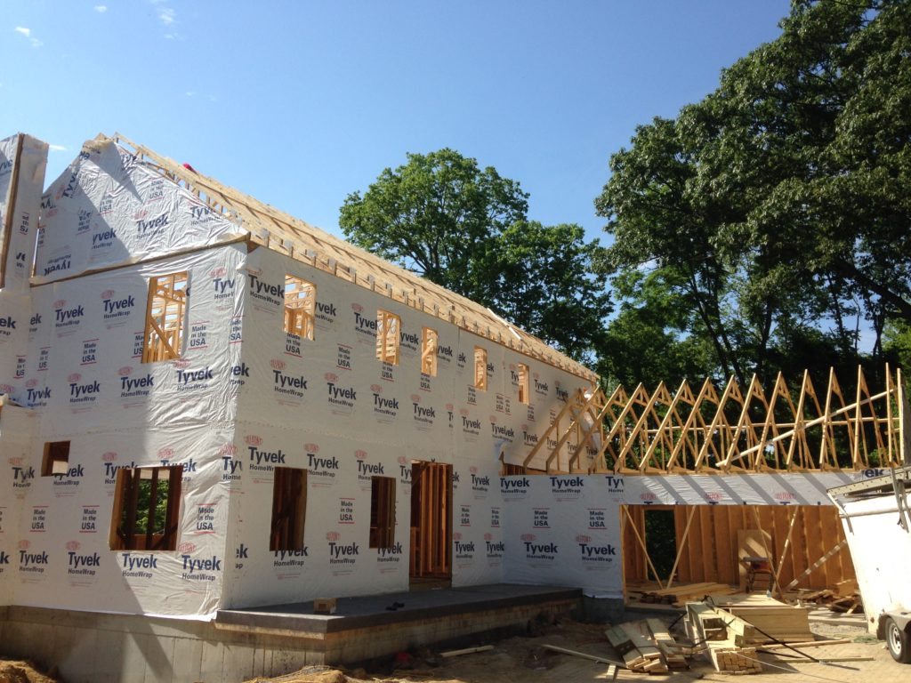 New construction framing