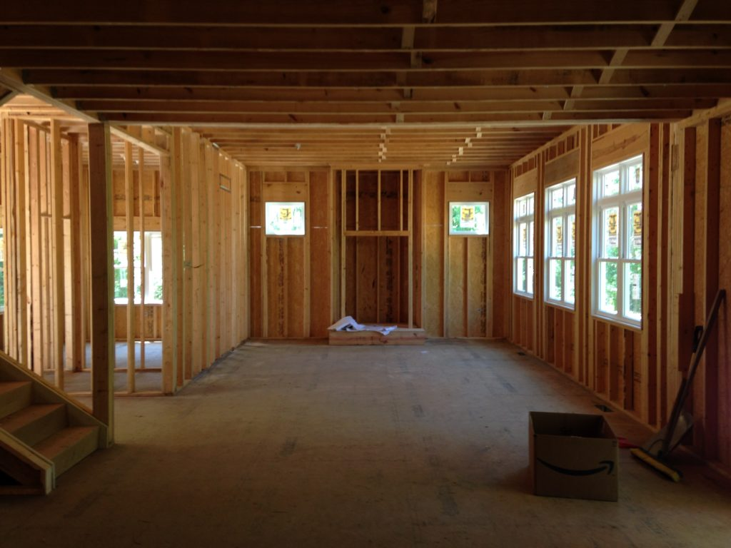 New construction inside