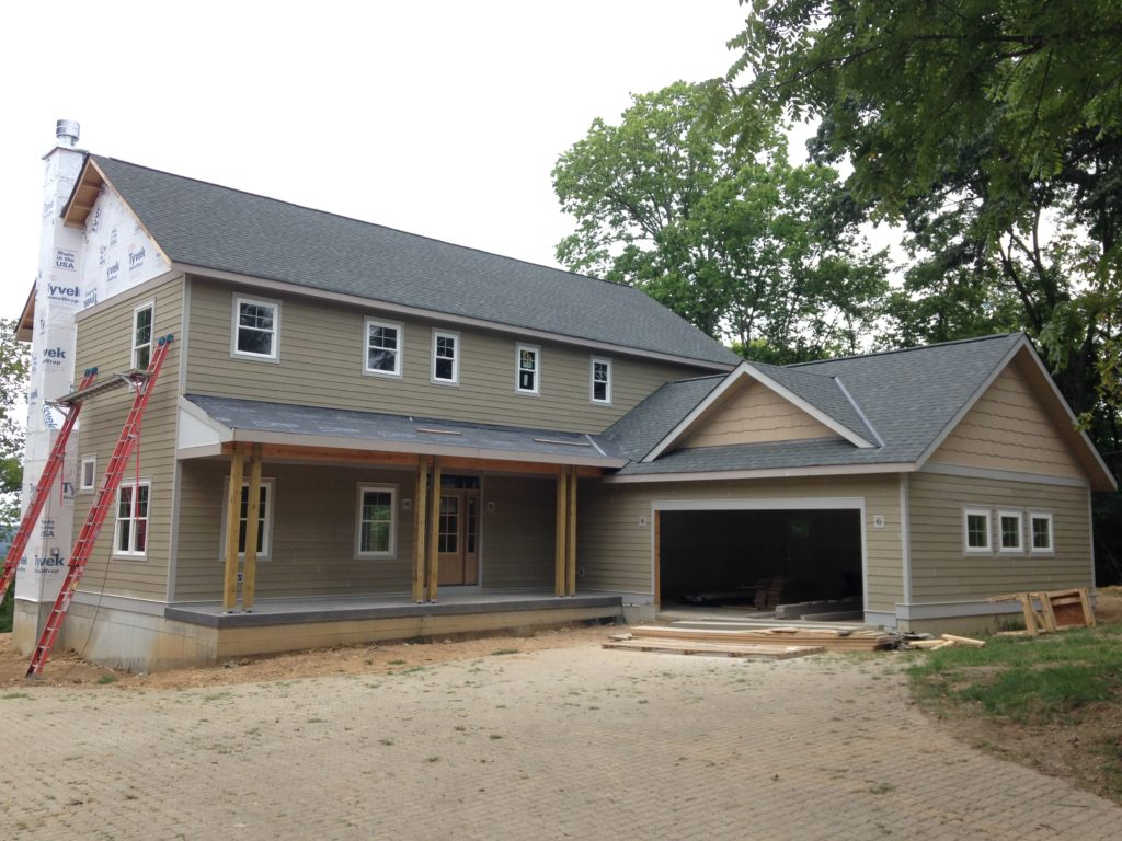 New construction siding