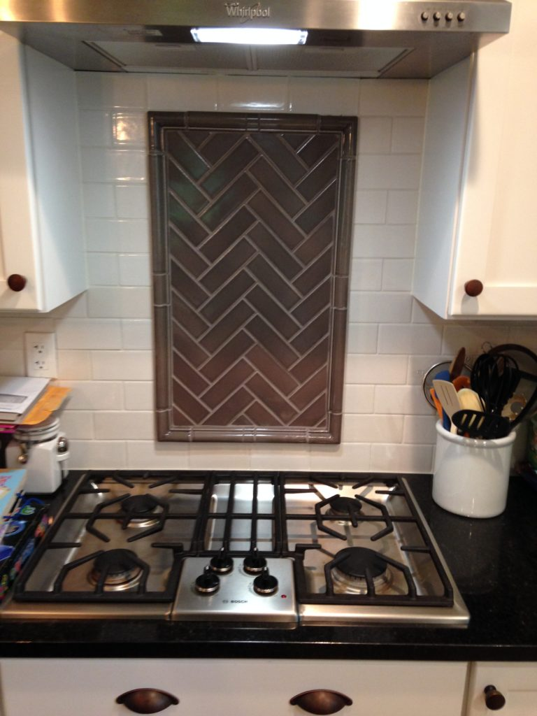 Montgomery kitchen rookwood tile